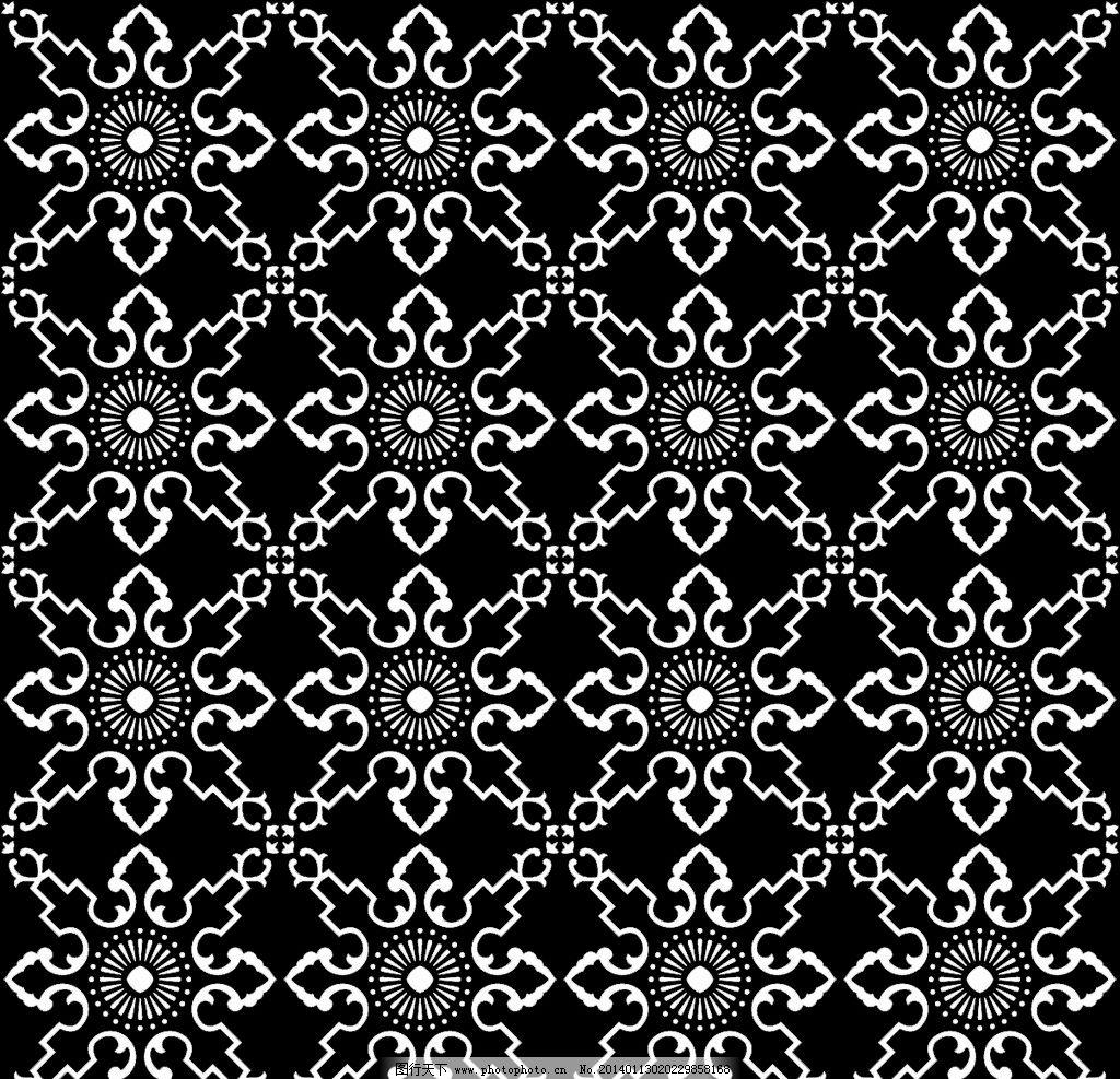 四方连续 二方连续 中式花纹 中式背景 背景底纹 底纹边框 设计 300dp