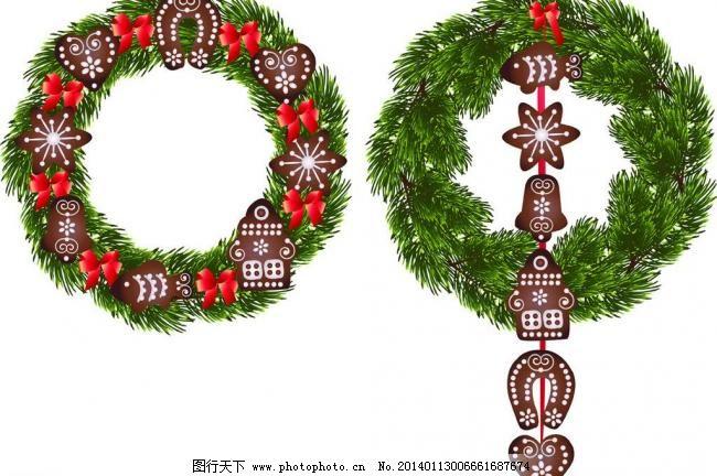 2014年新年背景 圣诞节插画 手绘 圣诞节海报背景 新年 喜庆 节日