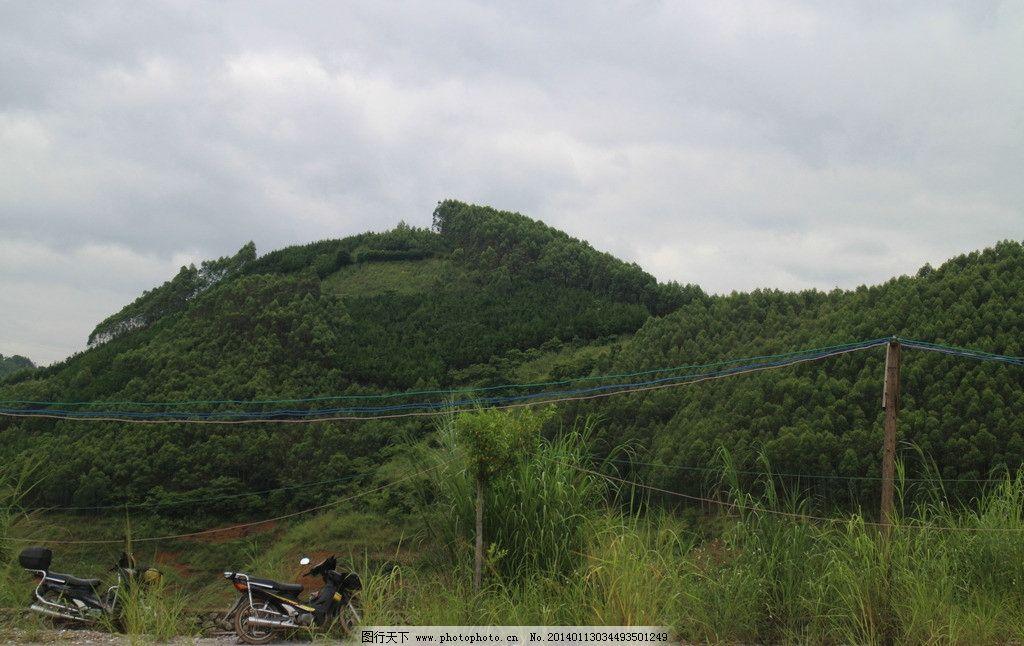 大山风光 山 大山 青山 天空 素材 龙脉 摄影 山水风景 自然景观 72