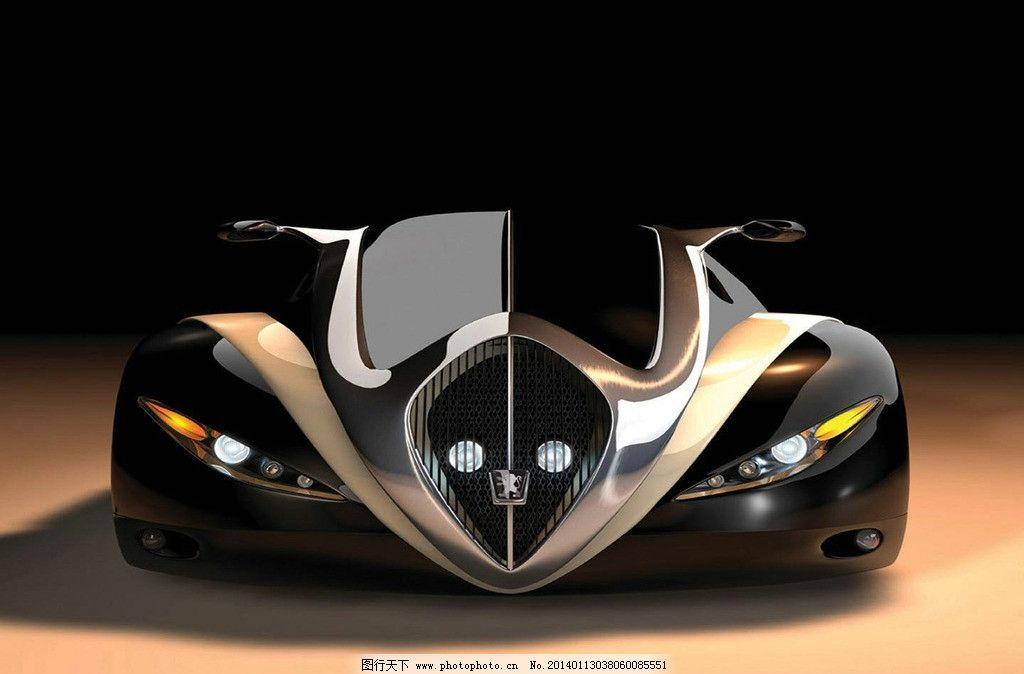 标致4002 标志 概念汽车 交通工具 现代科技 摄影 标致汽车