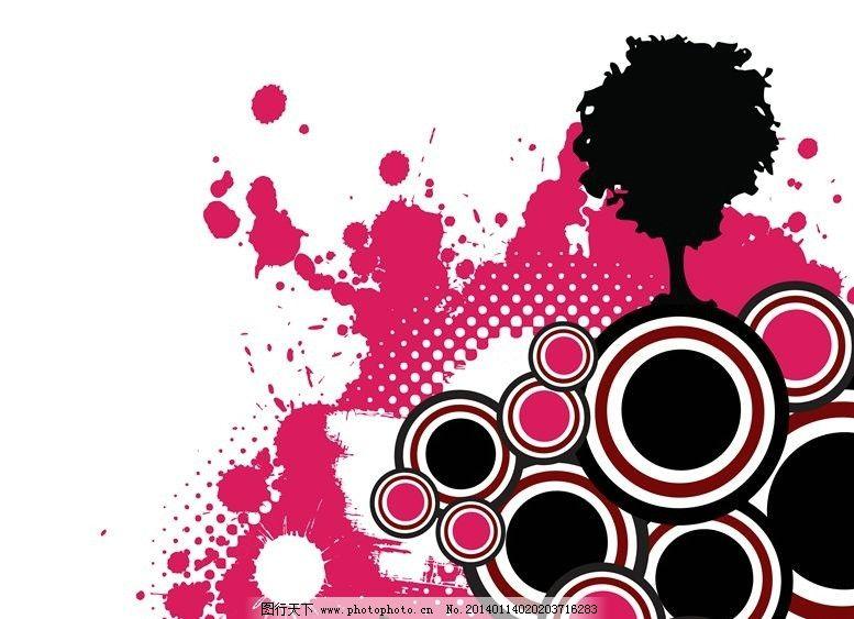 绚丽背景 绚丽 hippop 街头风格 时尚风格 多彩 花纹 线条 抽象设计