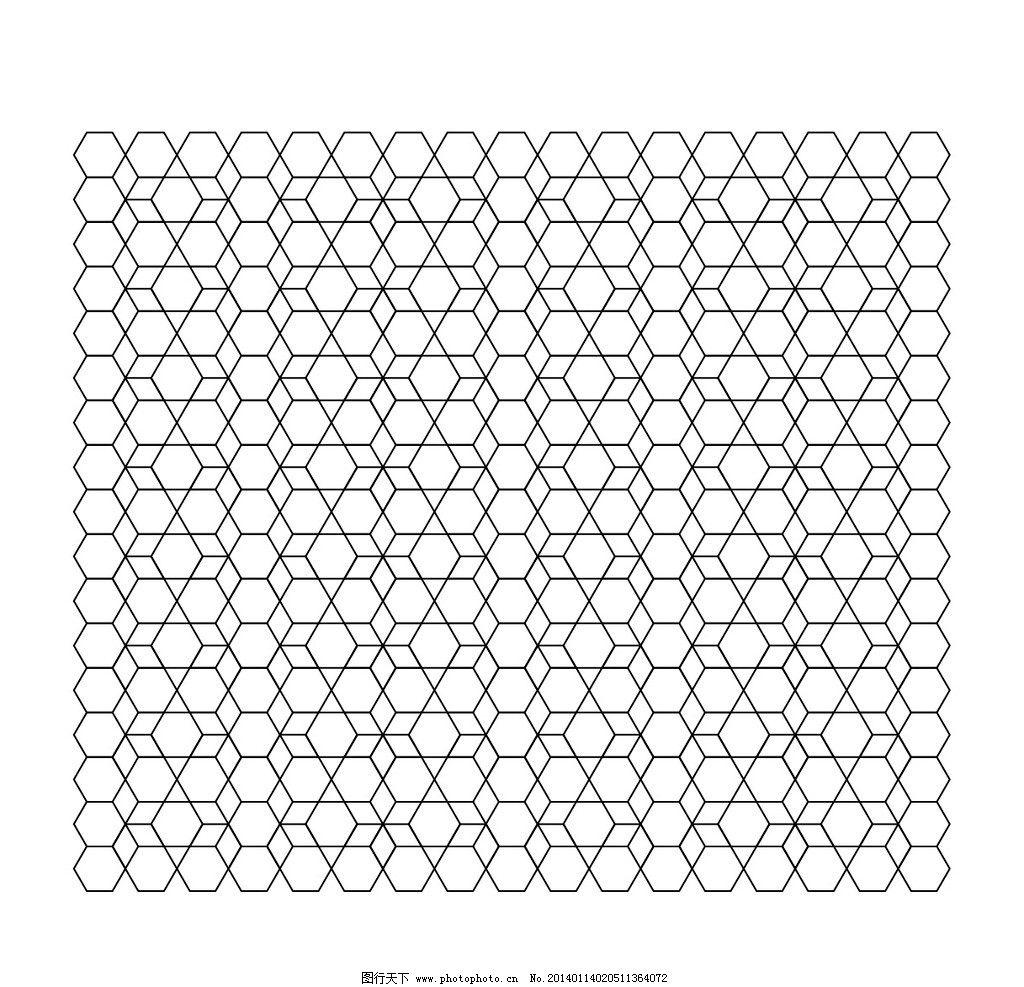 六边形 图形设计 底纹 线条 排列设计 条纹线条 底纹边框 矢量 ai