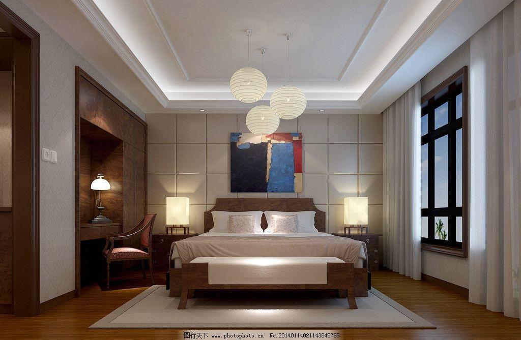 室内设计 家装 装修 家具 效果图卧室 3d作品 3d设计 设计 72dpi