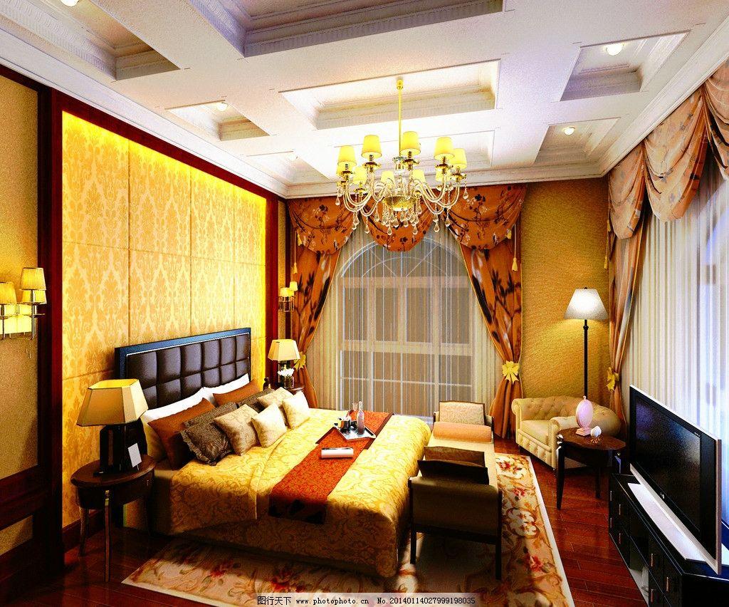 卧室设计图      设计        家装 室内 奢华 室内设计 环境设计 72d