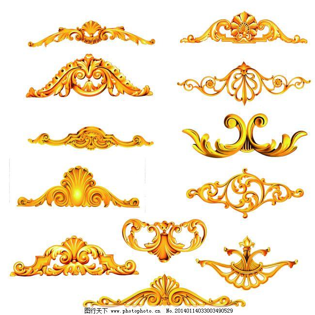 花纹 花纹免费下载 底纹 金色 金属色 欧式风格