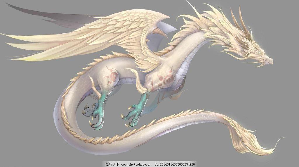 其他 设计 手绘 手绘龙设计素材 手绘龙模板下载 手绘龙 数字绘画 龙