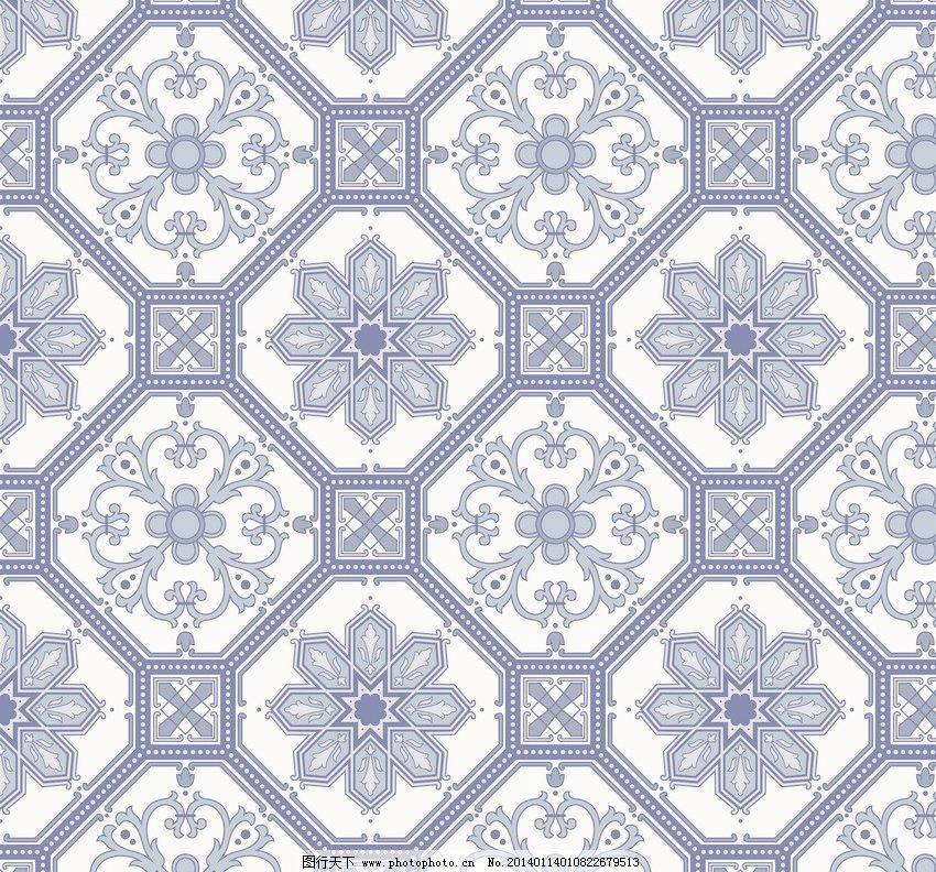动感 无缝古典花纹矢量素材 无缝古典花纹模板下载 无缝古典花纹 团花