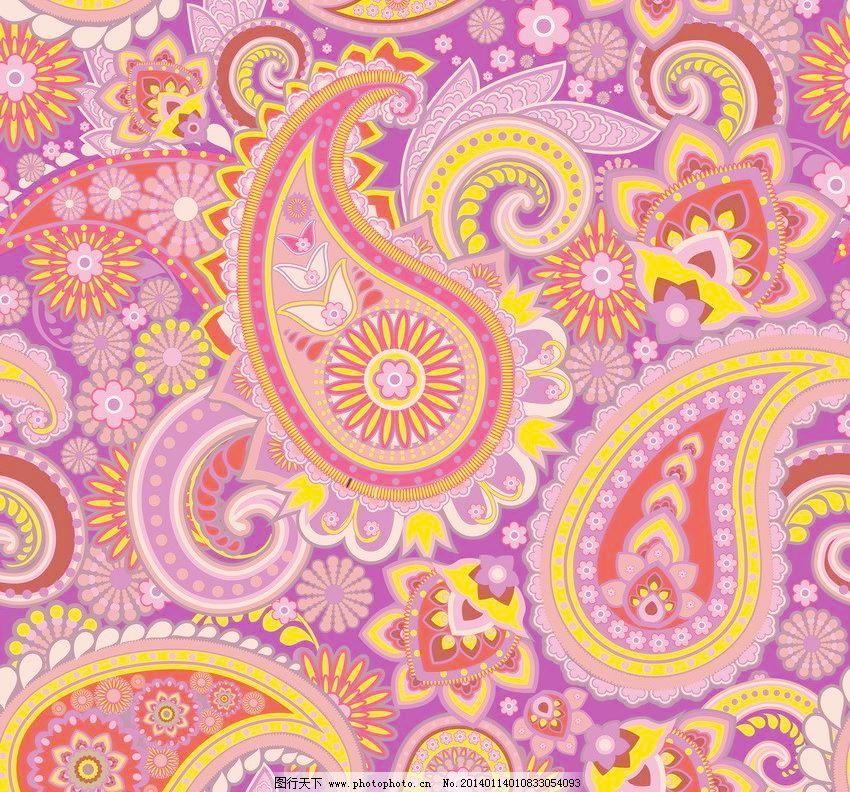 无缝花纹 无缝墙布 无缝壁布 丝织花纹 传统花纹 装饰花纹 欧式 古典