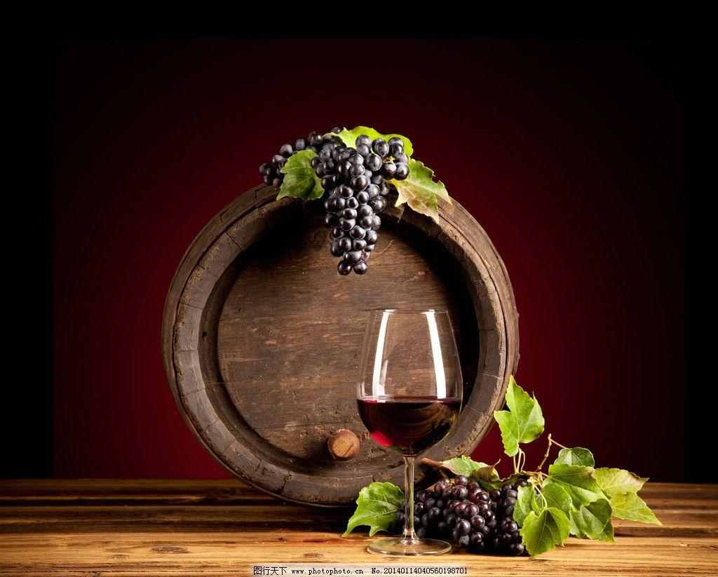 葡萄酒 红酒 葡萄 酒桶 高清 背景 饮料酒水 餐饮美食 摄影 300dpi jp