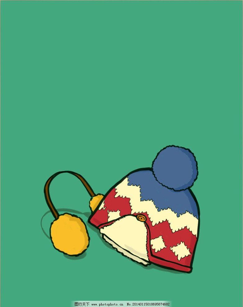 帽子耳罩 帽子 耳罩 手绘 动画 设计 动漫 其他 动漫动画 300dpi jpg