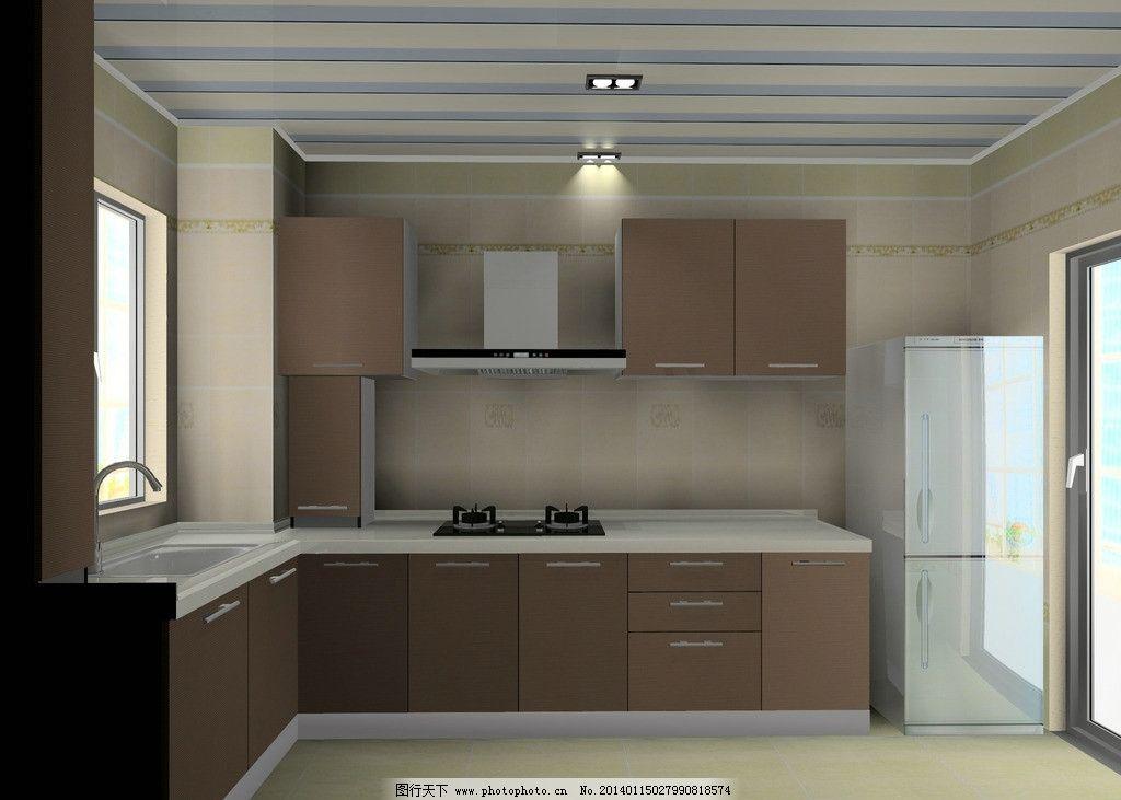 橱柜效果图 厨房 家庭 整体厨房 家居图片
