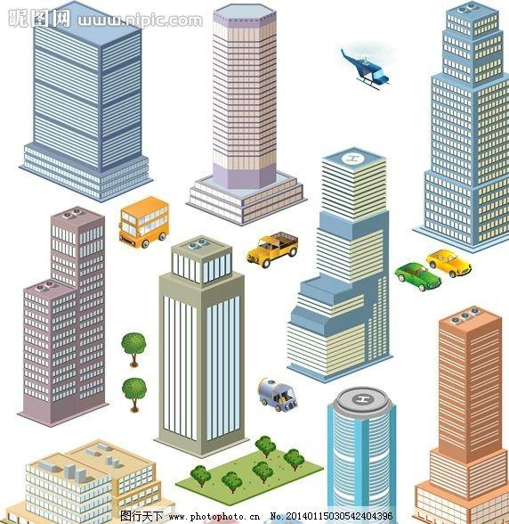 城市设计 城市规划 城市全景 楼房 房屋 房子 高楼 楼房设计 立体设计