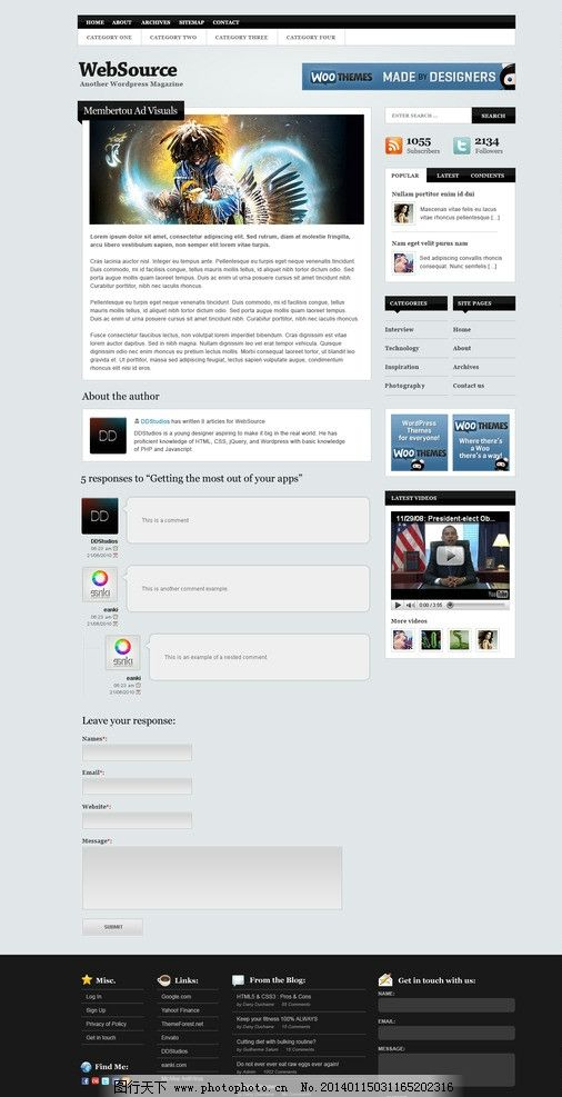 web頁面 個人web 網站設計及淘寶裝修 淘寶裝修模版 淘寶界面設計 源