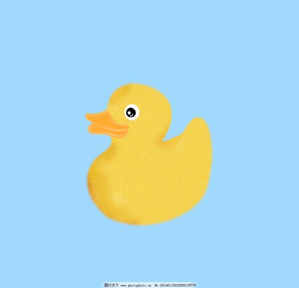 毛鸭子图片 小黄鸭 素材 毛鸭子 卡通 黄色 鸭子 psd分层素材 源文件图片