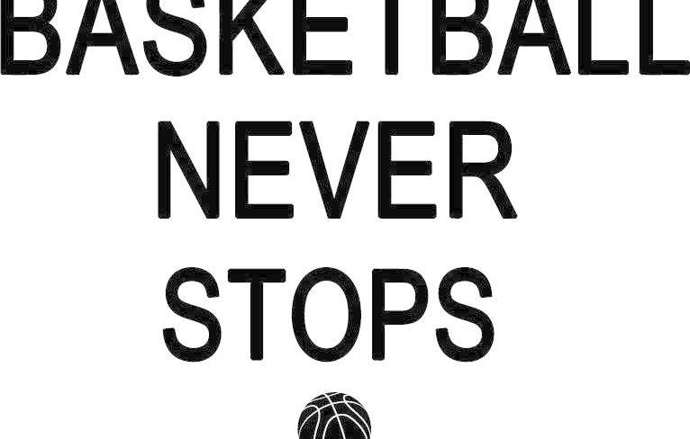 篮球永不熄英语矢量图 个性 广告设计 时尚印花 矢量素材 体育