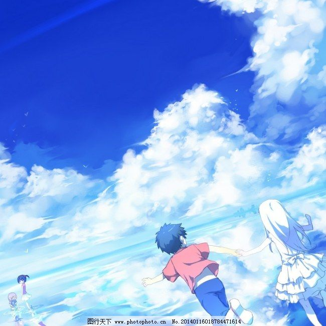 情侣 天空 云朵 天空 面码 情侣 云朵 图片素材 卡通|动漫|可爱图片