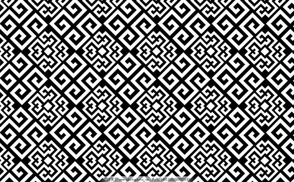 经典花纹 花纹 底纹 四方连续 二方连续 背景底纹 底纹边框