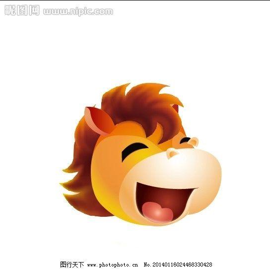 马年 卡通马 吉祥物 春节 2014 野生动物 生物世界 矢量 ai