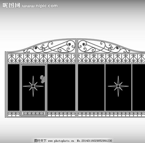 铁大门 大门 铁栅栏 铁门 铁门设计 大门设计 铁大门设计 铁艺 欧式