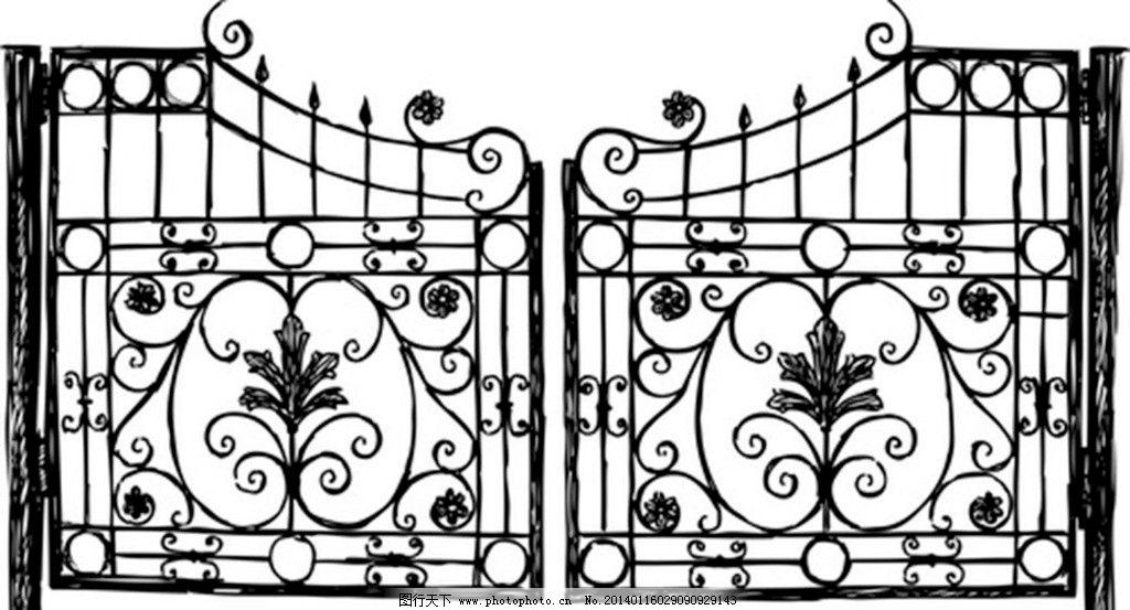 铁大门 大门 铁栅栏 铁门 铁门设计 大门设计 铁大门设计 铁艺 欧式风
