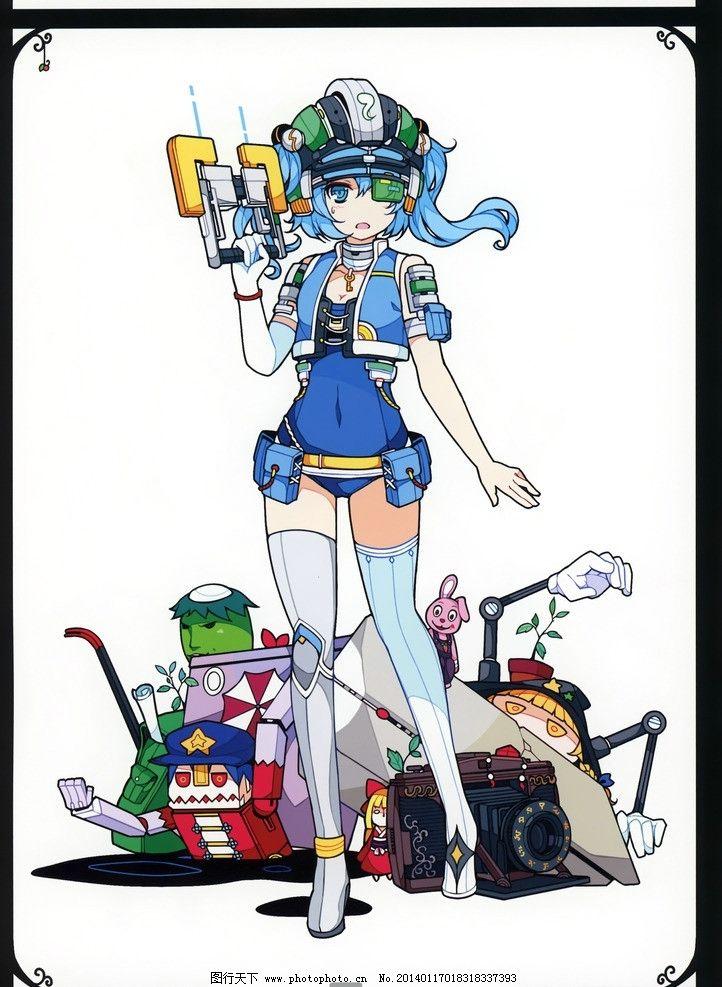动漫人物模板下载 动漫 手绘 日系 卡通 可爱 设计 动漫动画 118dpi