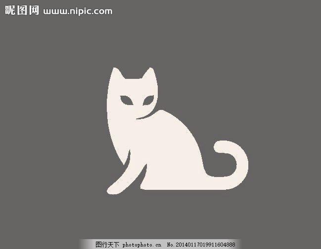动物logo 生物 野生动物 外国 西方 欧式 国外 欧美 美术