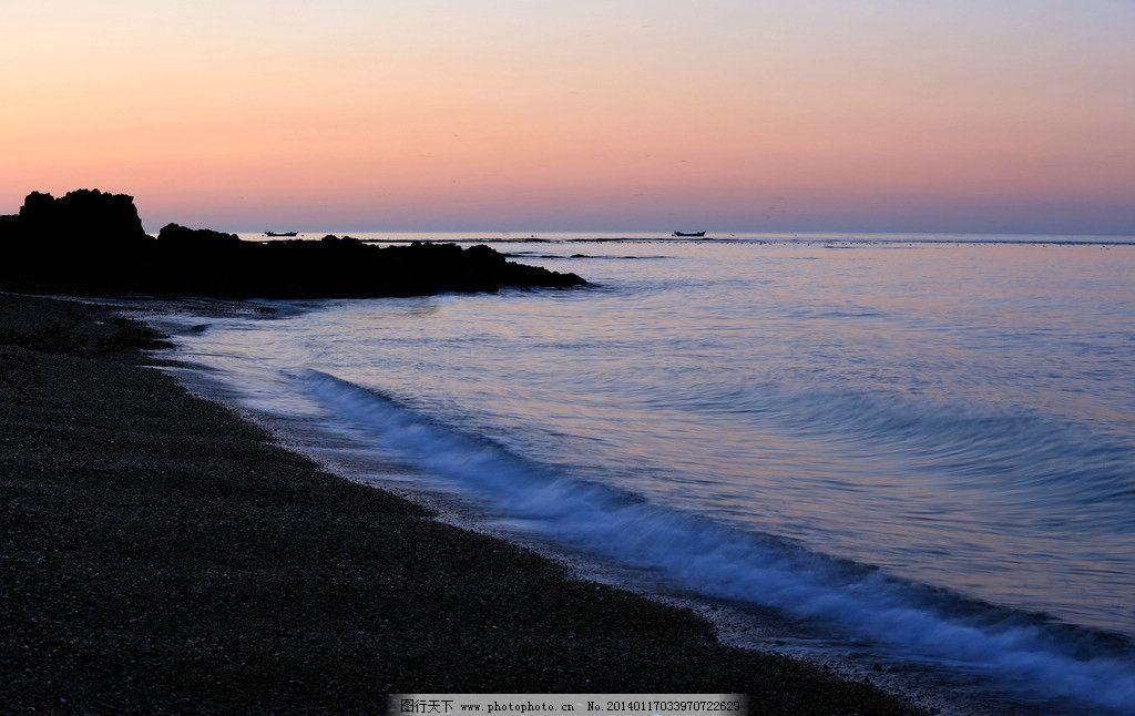 辽宁大连海景 辽宁 大连 海边 海岸线 海边风景海景 城市 日出 清晨