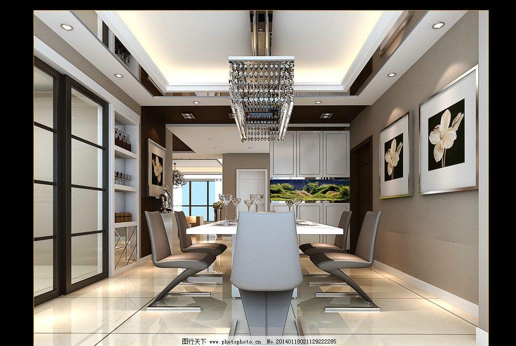 餐厅效果图 室内设计 家装 装修        3d作品 3d设计 设计 72dpi jp