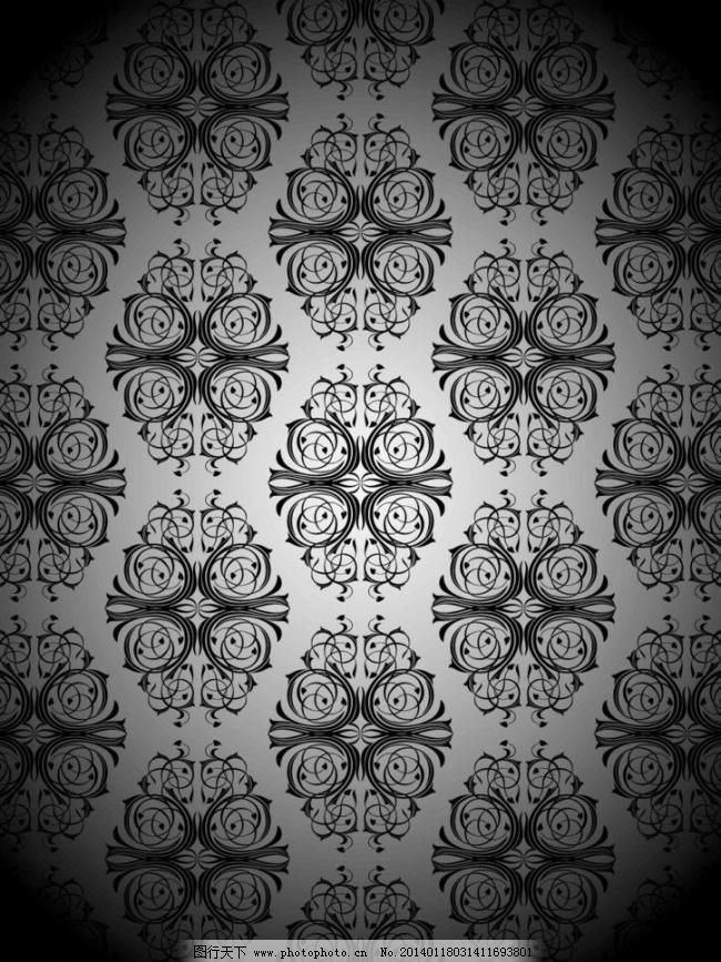 花卉 民族装饰花纹 花纹标签 古典花纹 时尚欧式花纹 复古丝带元素