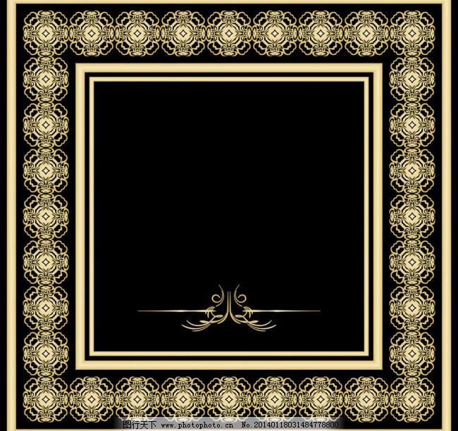 古典花边 古典底纹 欧式底纹 欧式花边 欧式花纹边框相框 边框相 淘宝