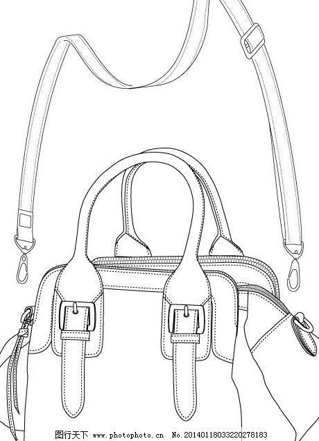 女包 手提包 包包 新款包 新款包包 时尚女包 包包线稿 女包设计稿