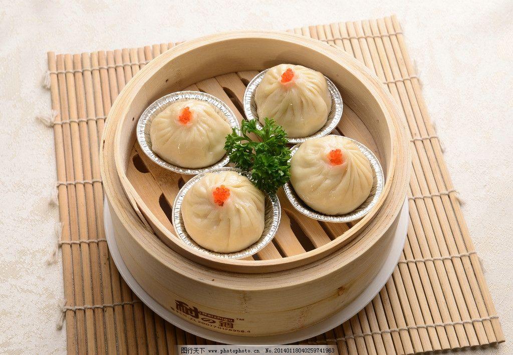 上海小笼包 粤式美食 港式茶点 美食 美味 传统美食 餐饮美食 摄影图片