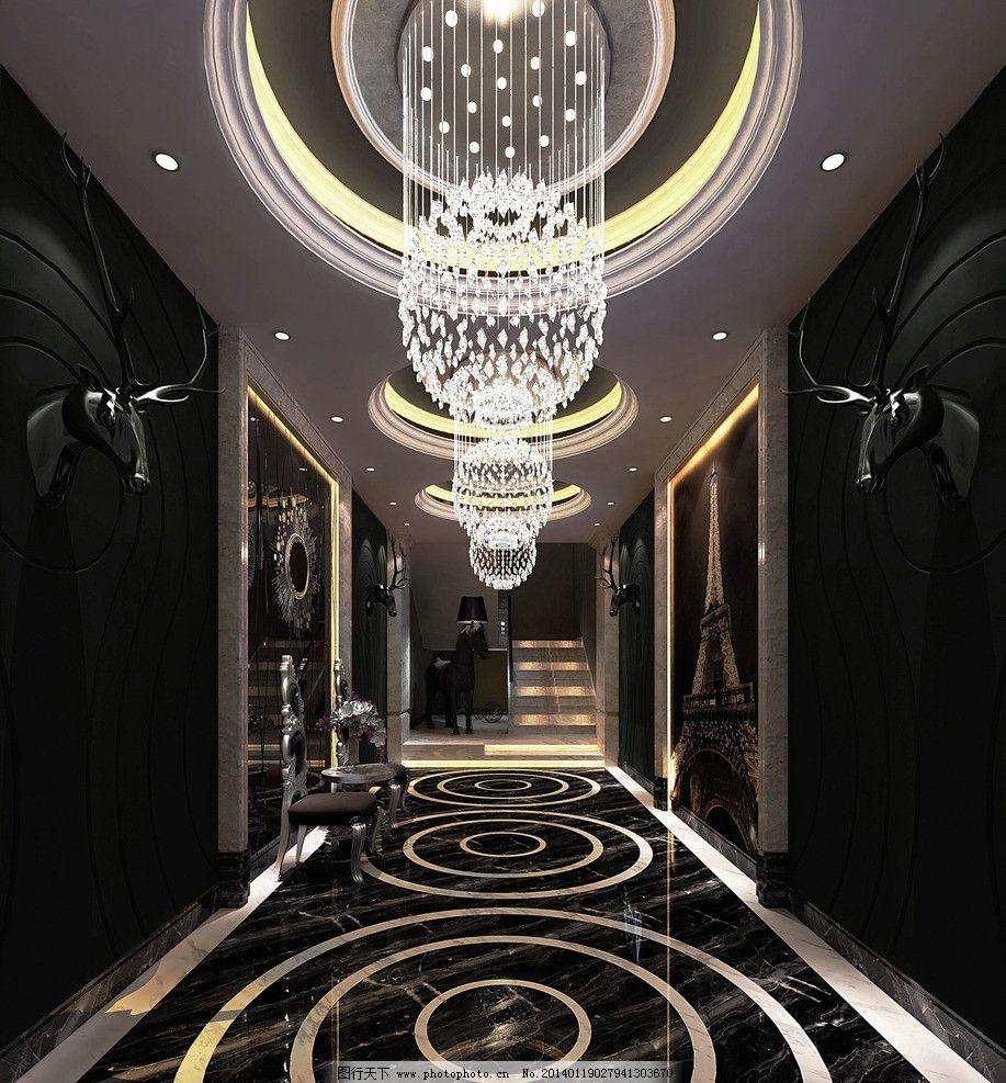 ktv        裝修設計 裝飾 效果 走廊 吊燈 室內設計 環境設計 設計