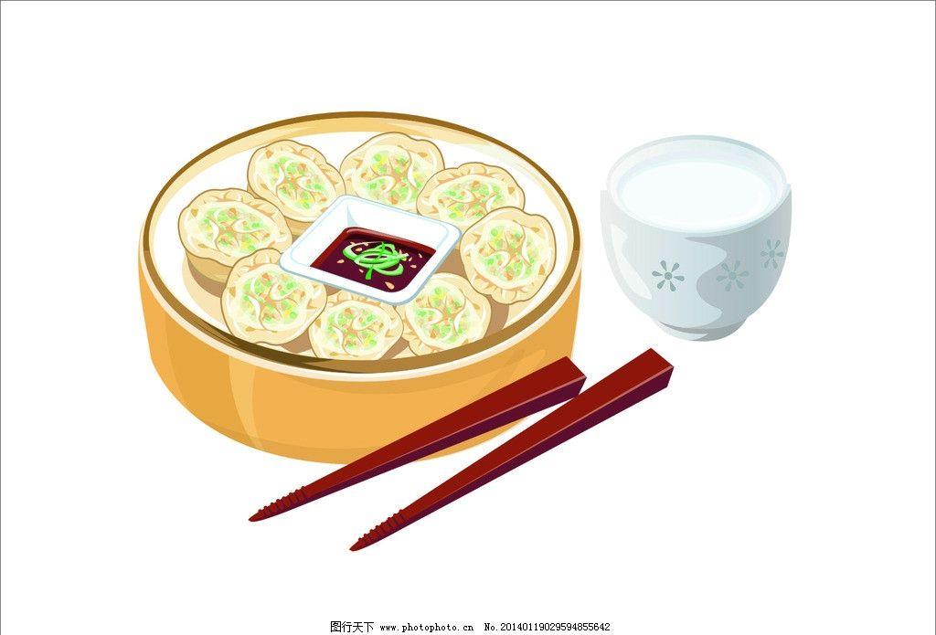 简笔画水饺画法