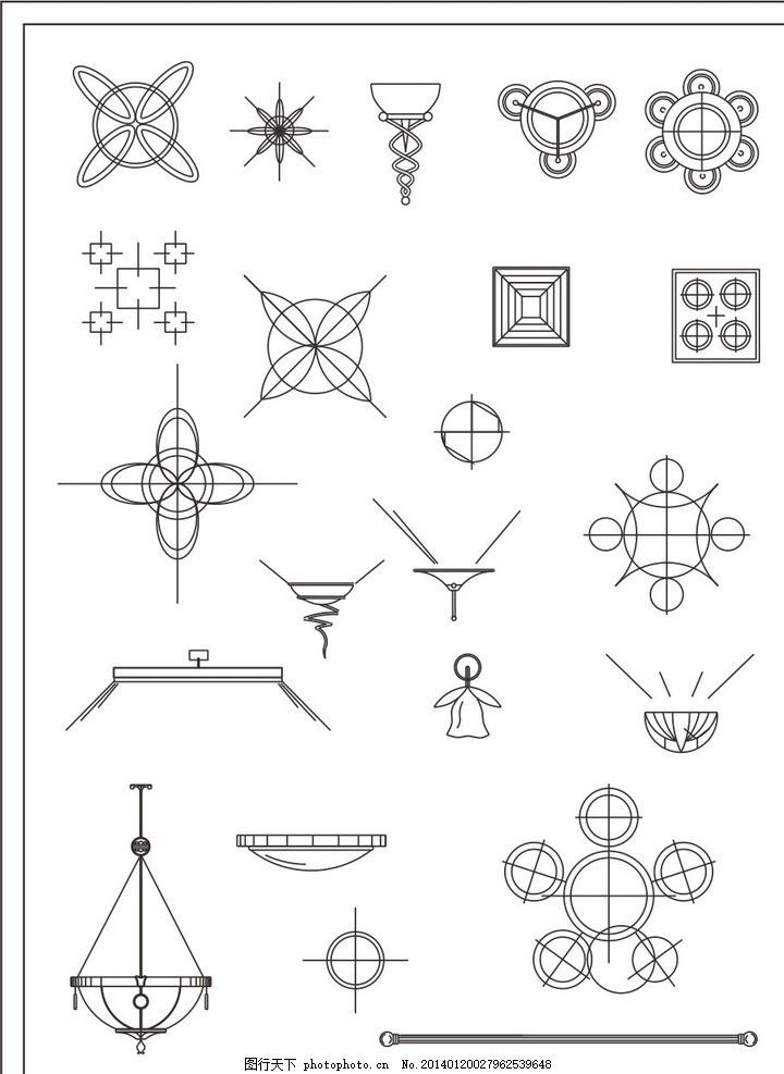 灯具电路图怎么画