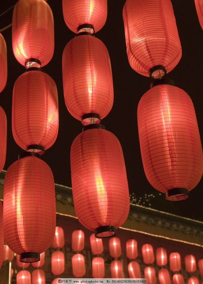 春节 纸灯笼