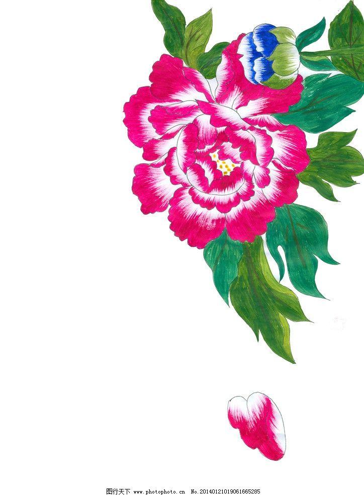 牡丹花图片_绘画书法_文化艺术