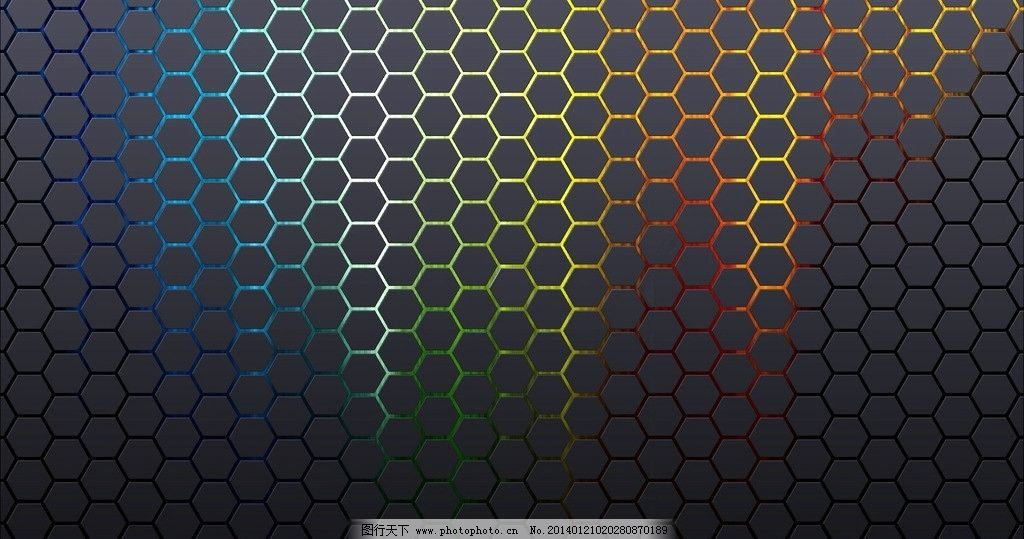 蜂窝图案 蜂窝 图案 彩色 花纹 桌面 背景 背景底纹 底纹边框 设计 72