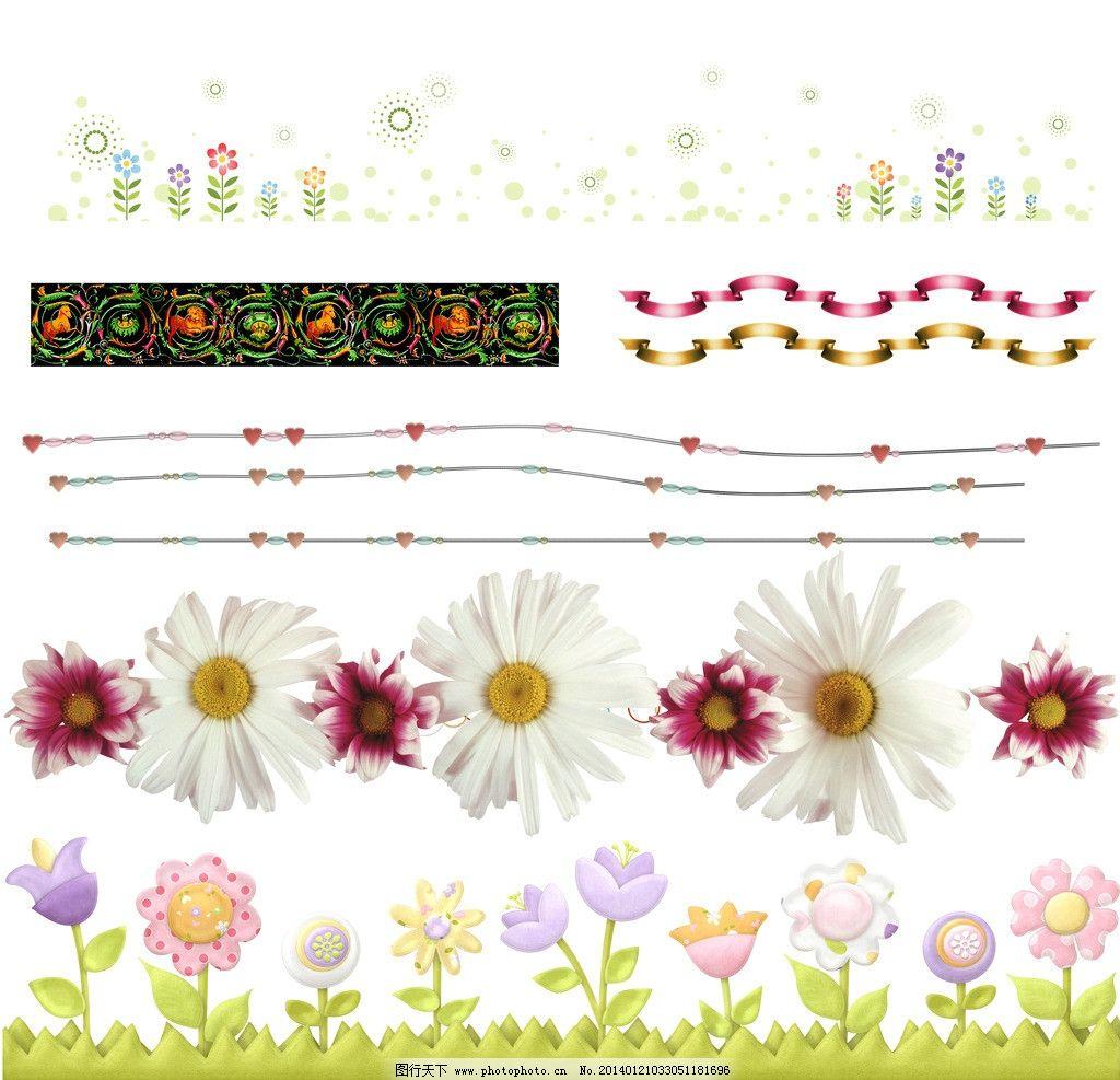 边框 花朵边框 丝带边框 花草边框 菊花边框 欧式边框 复古边框 相框