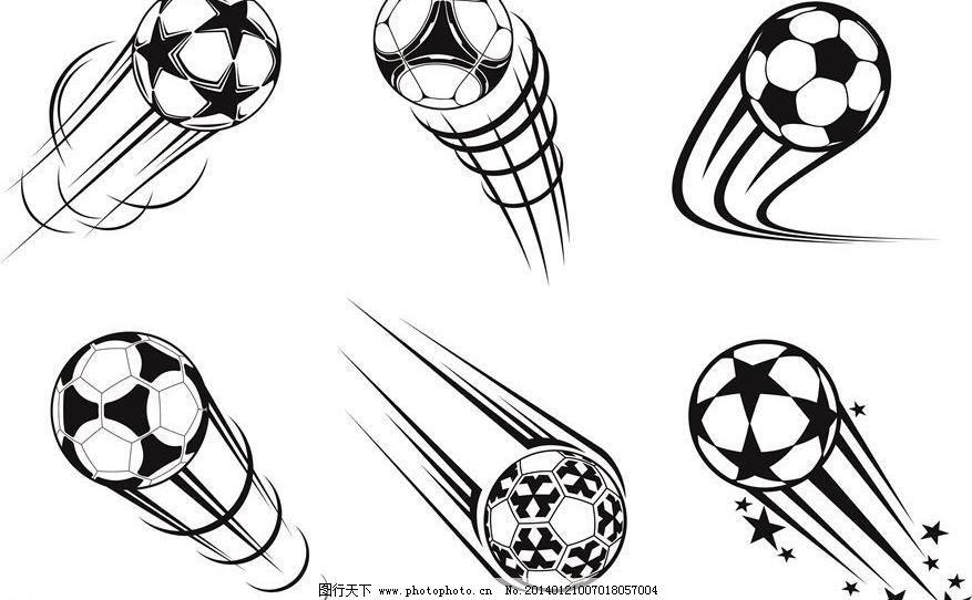 足球题材简笔画