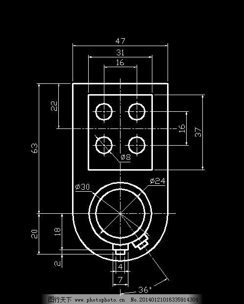 机械制图图纸