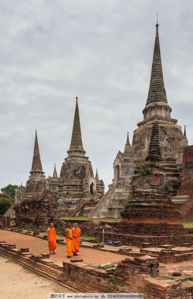 旅游 泰国佛塔图片
