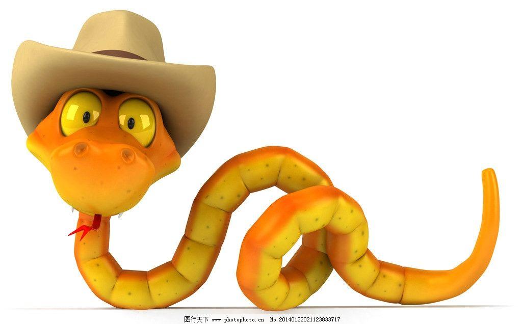 3d黄蛇 3d蛇 3d动物 广告牌 角色造型 三维 3d设计 设计 3d设计 300
