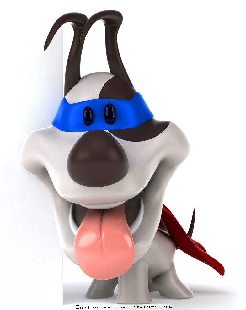 3d宠物狗 3d动物 卡通动物 广告牌 角色造型 三维 3d设计 设计 3d设计