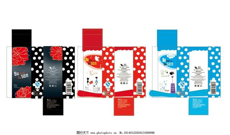 香水包装展开图图片_包装设计