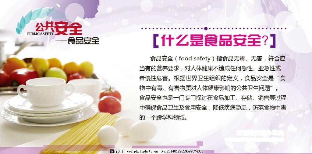 科普小常识 科普 食品安全 公共安全 海报 展板 广告设计 矢量 ai