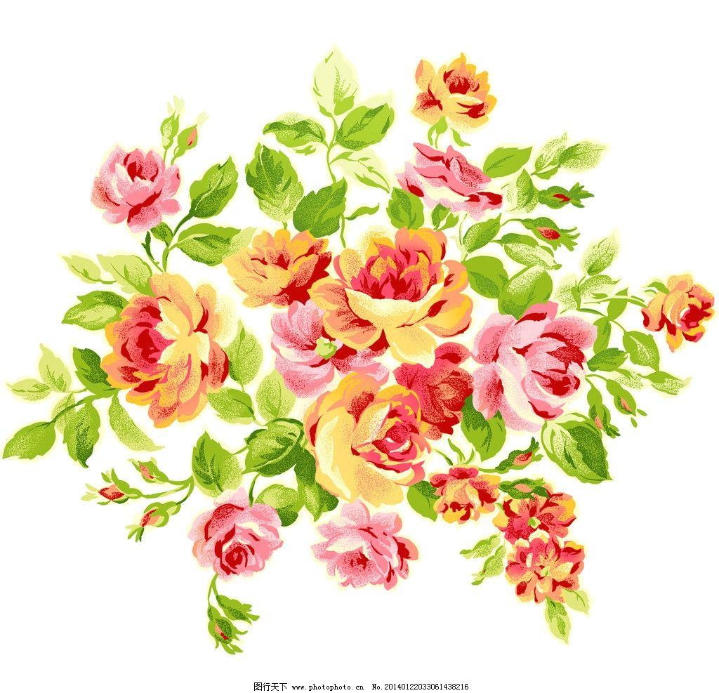 玫瑰 手绘花纹 手绘花朵 移门花纹 欧式复古 花纹 背景 花纹背景 壁纸