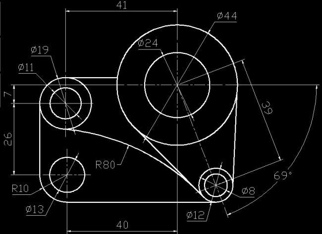 工程制图中线与面的名称及图解