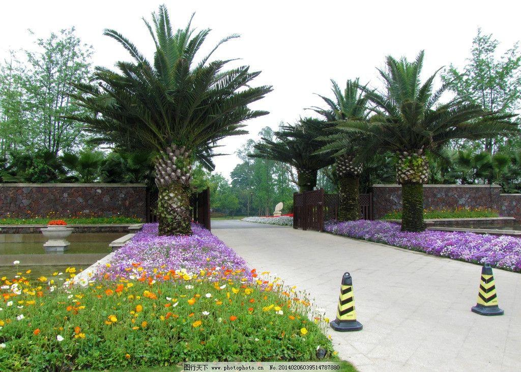 入口景观 小区景观 小区主入口 花园 园艺 草地 绿地庄园 房地产 大门
