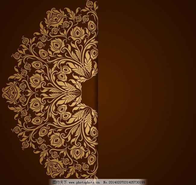 古典 时尚 花边 边框 豪华 华丽 纹样 纹理 古典花边 古典底纹 欧式图片